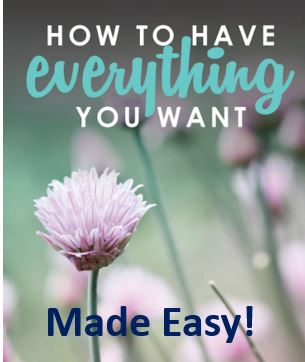 How to have what you want, made easy